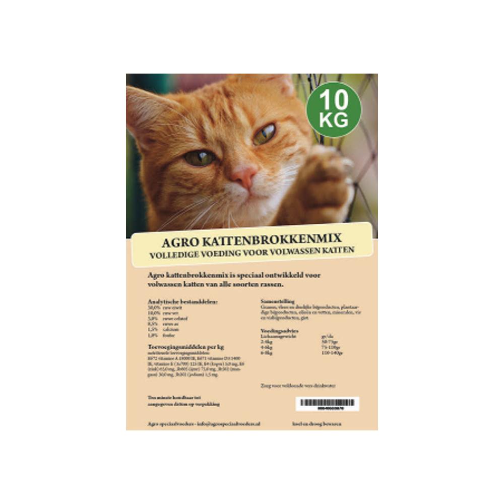 Agro Kattenbrokkenmix