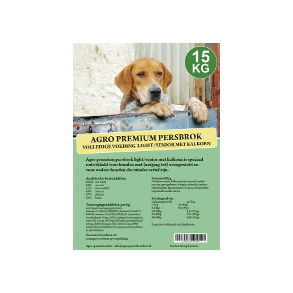 Agro Premium Persbrok Senior/Light met Kalkoen
