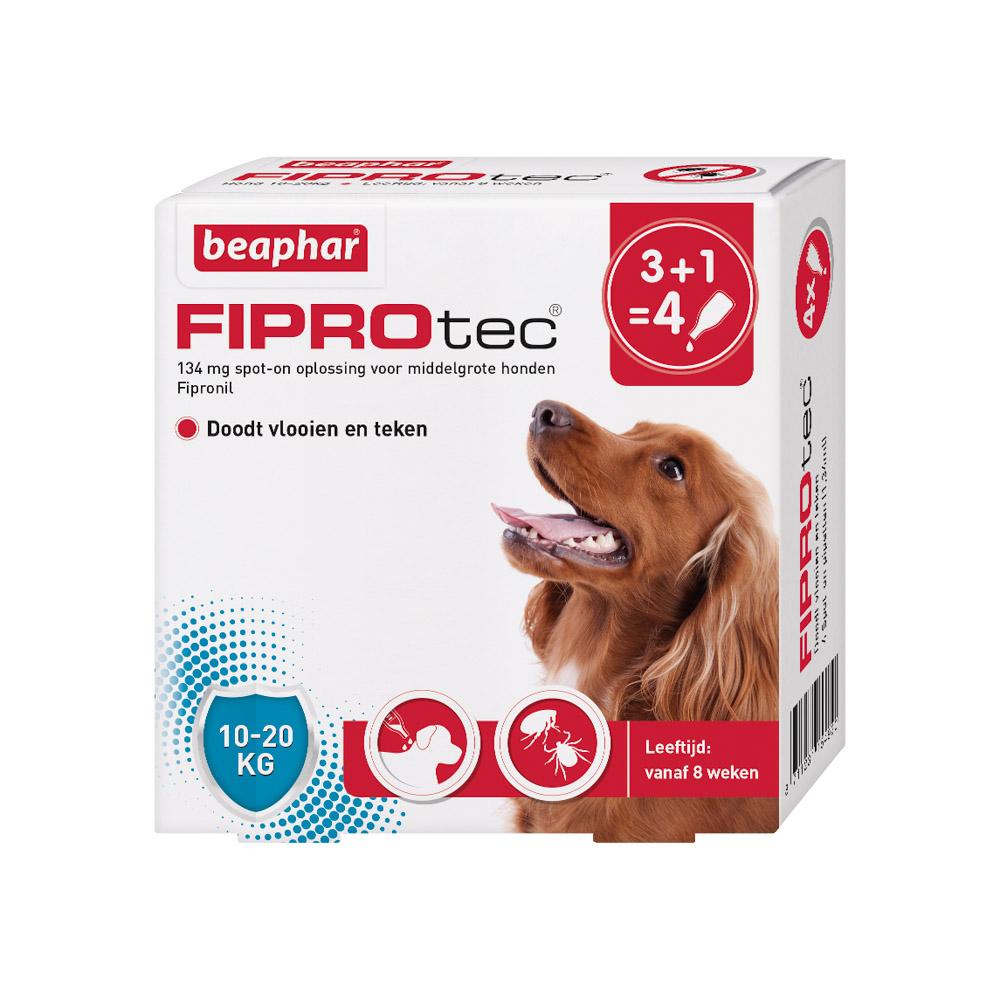 Beaphar Fiprotec Spot-On voor honden 10-20 kg