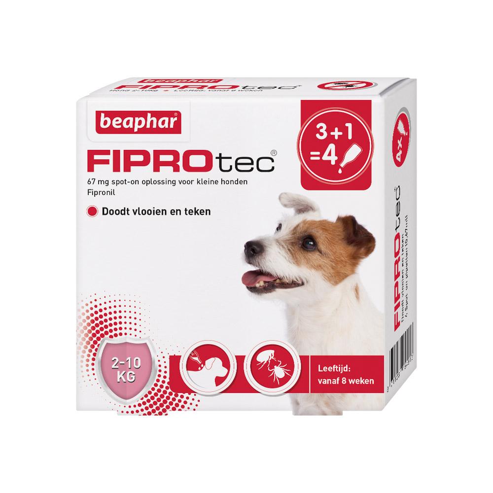 Beaphar Fiprotec Spot-On voor honden 2-10 kg