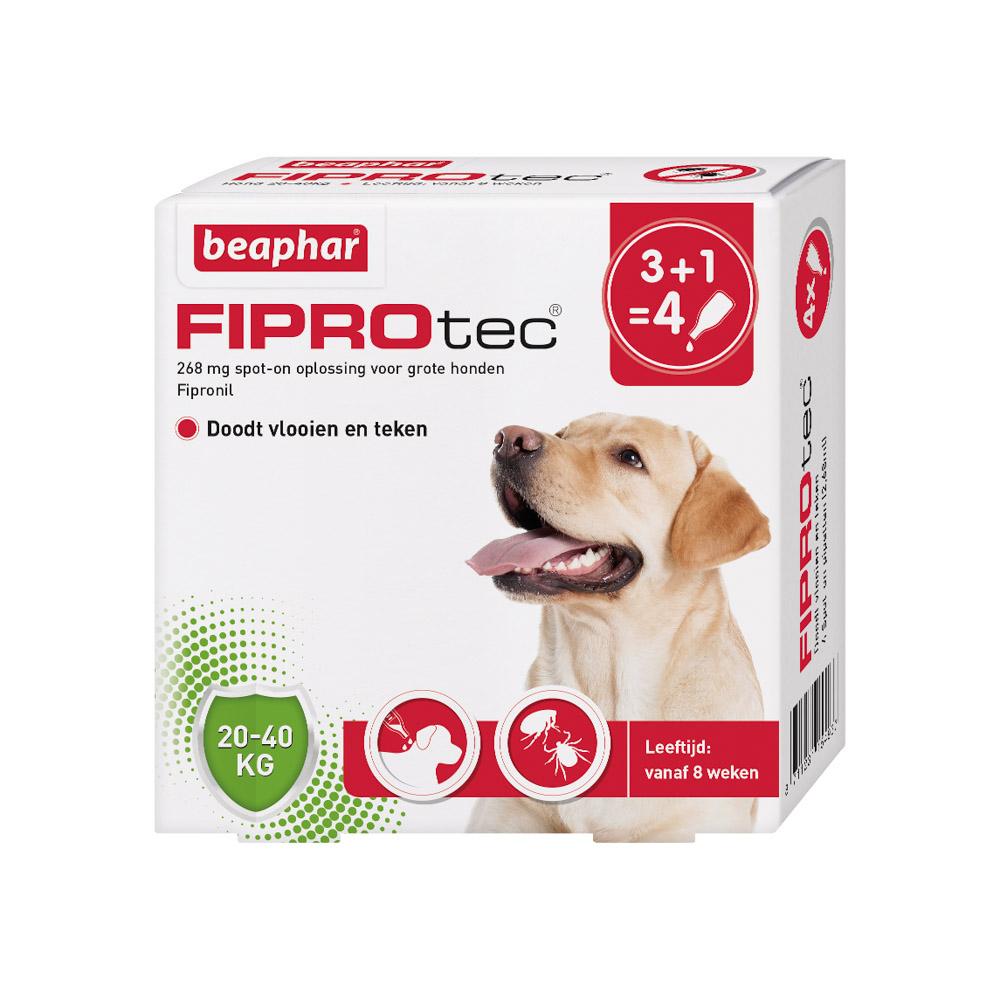 Beaphar Fiprotec Spot-On voor honden 20-40 kg