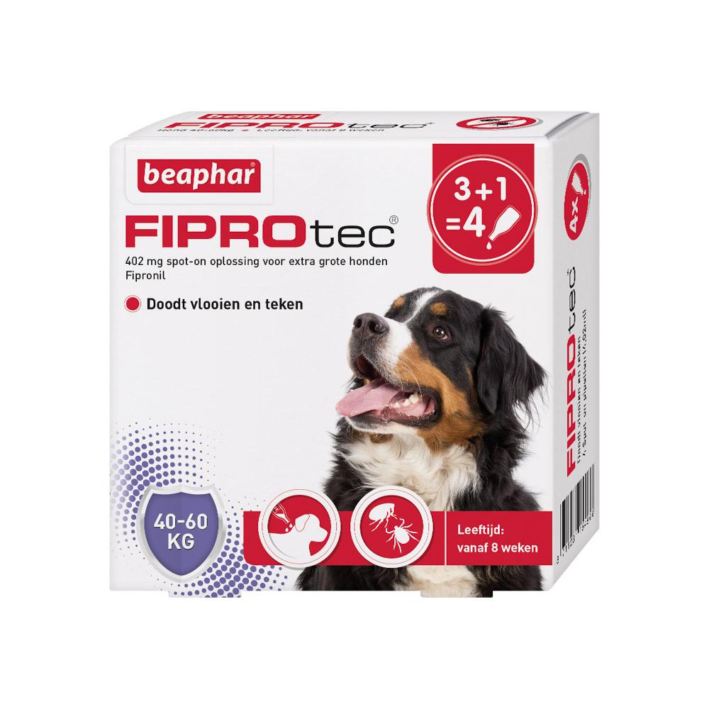 Beaphar Fiprotec Spot-On voor honden 40-60 kg