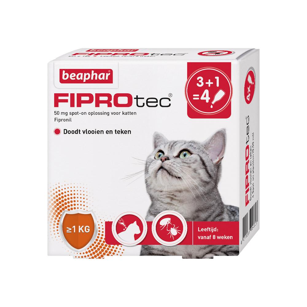 Beaphar Fiprotec Spot-On voor katten