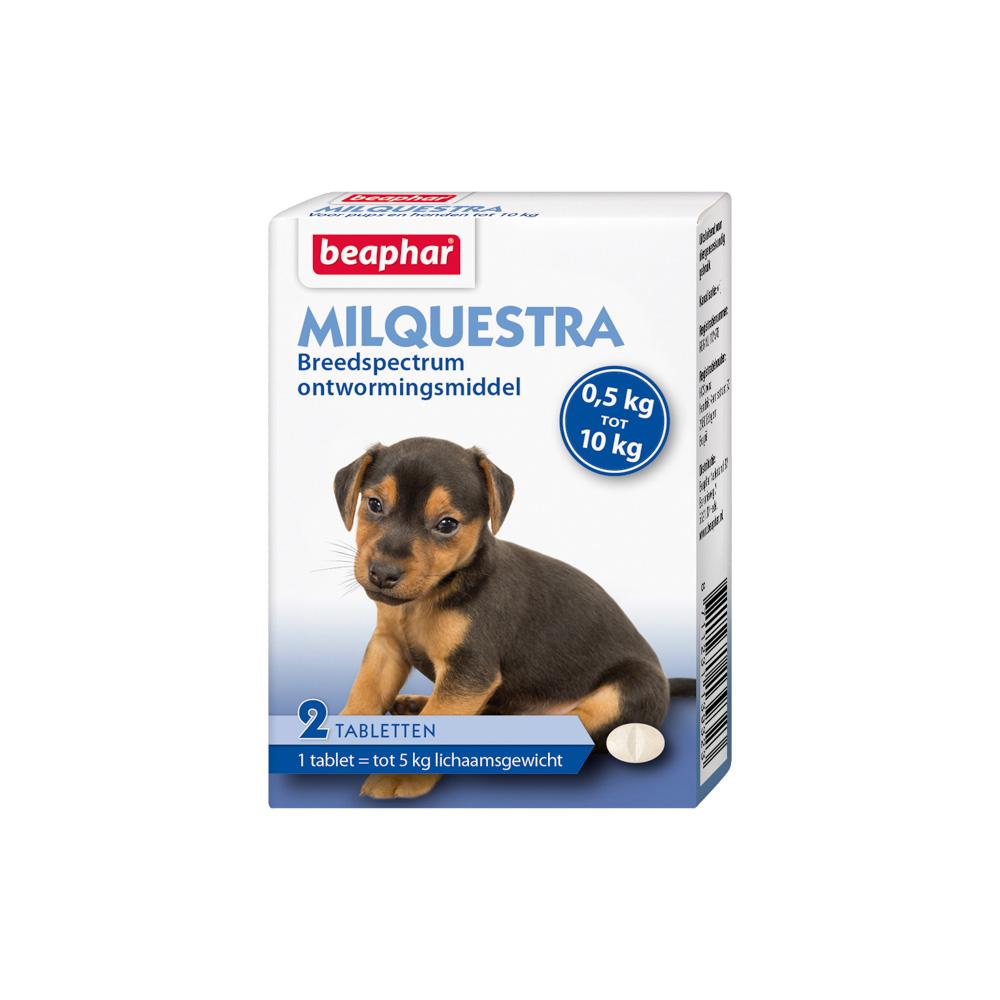 Beaphar Milquestra Wormtablet kleine hond
