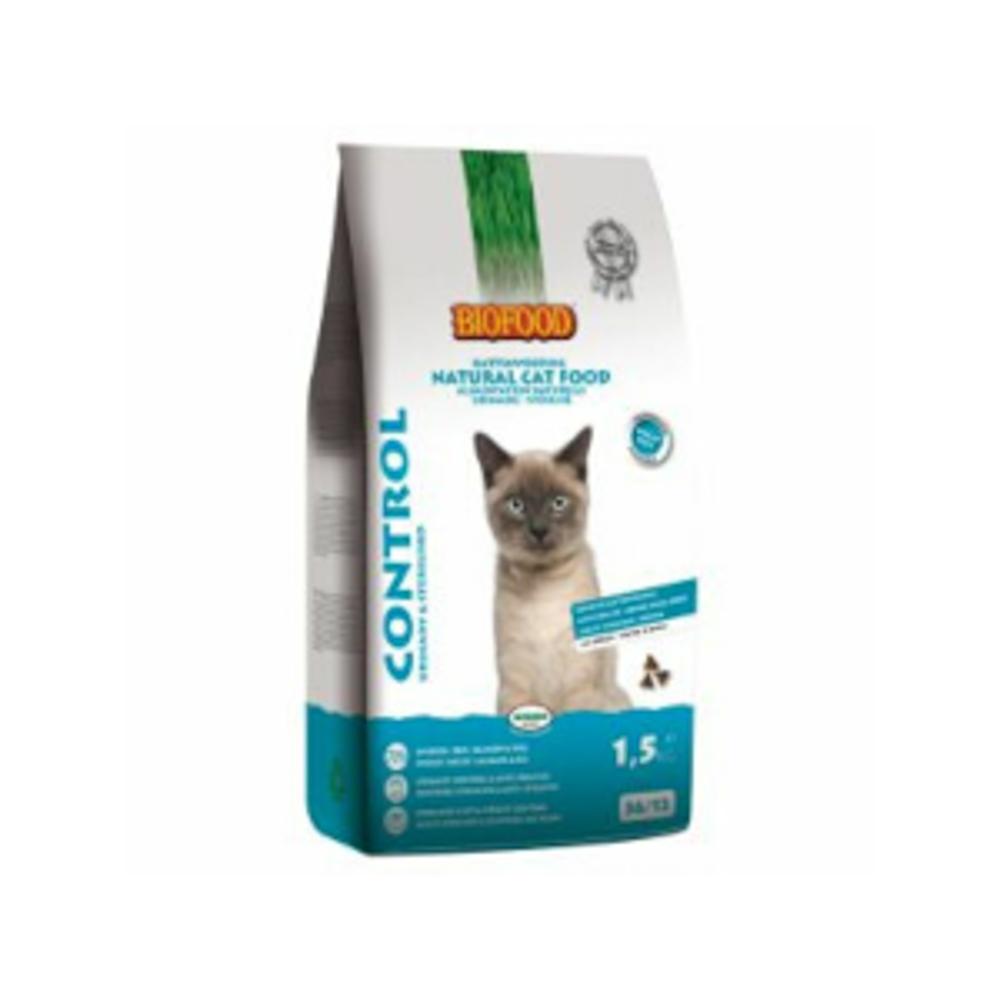 Biofood Cat Control Urinary en Sterilised