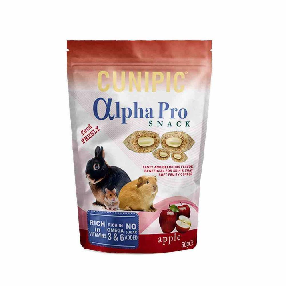 Cunipic Alpha Pro Apple Snack voor knaagdieren