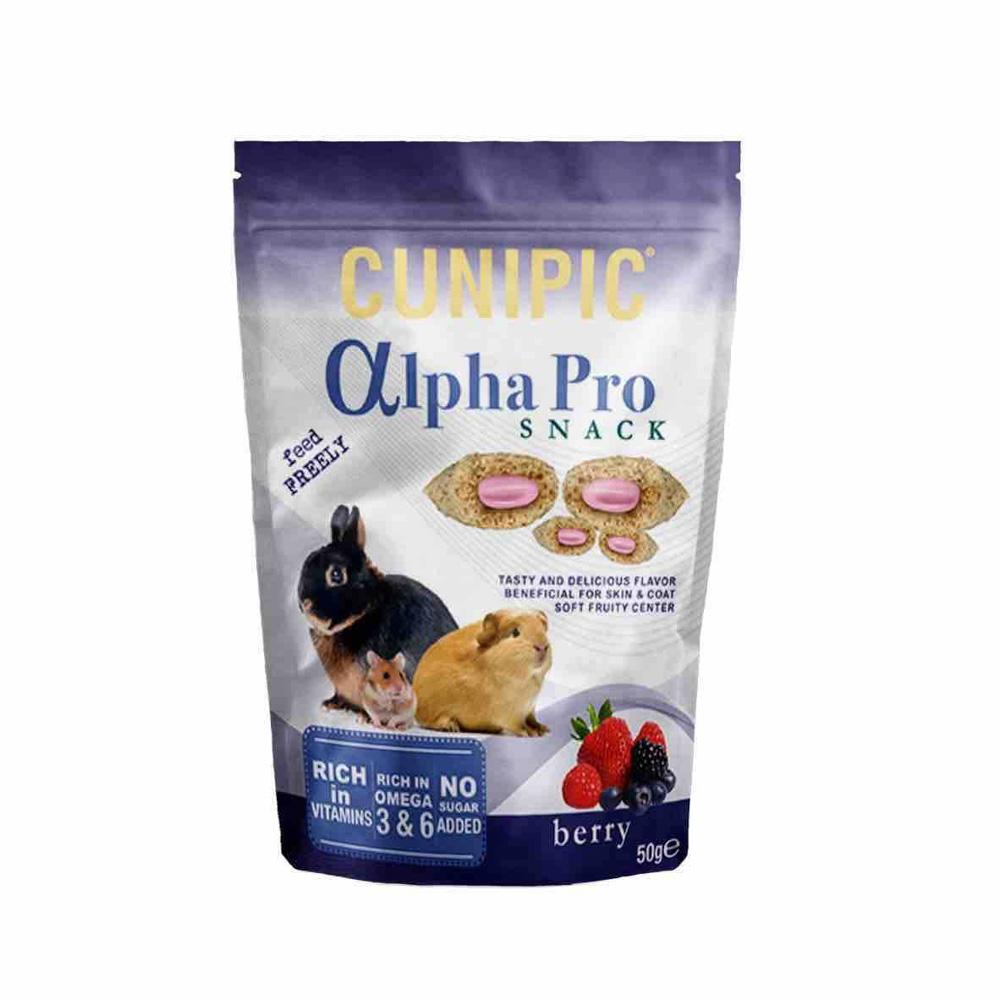 Cunipic Alpha Pro Fruit Snack voor knaagdieren