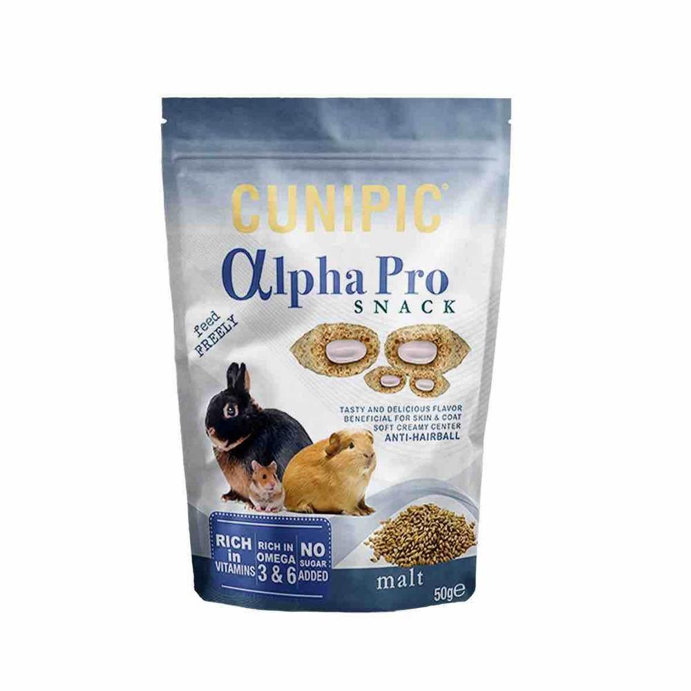 Cunipic Alpha Pro Malta Snack voor knaagdieren