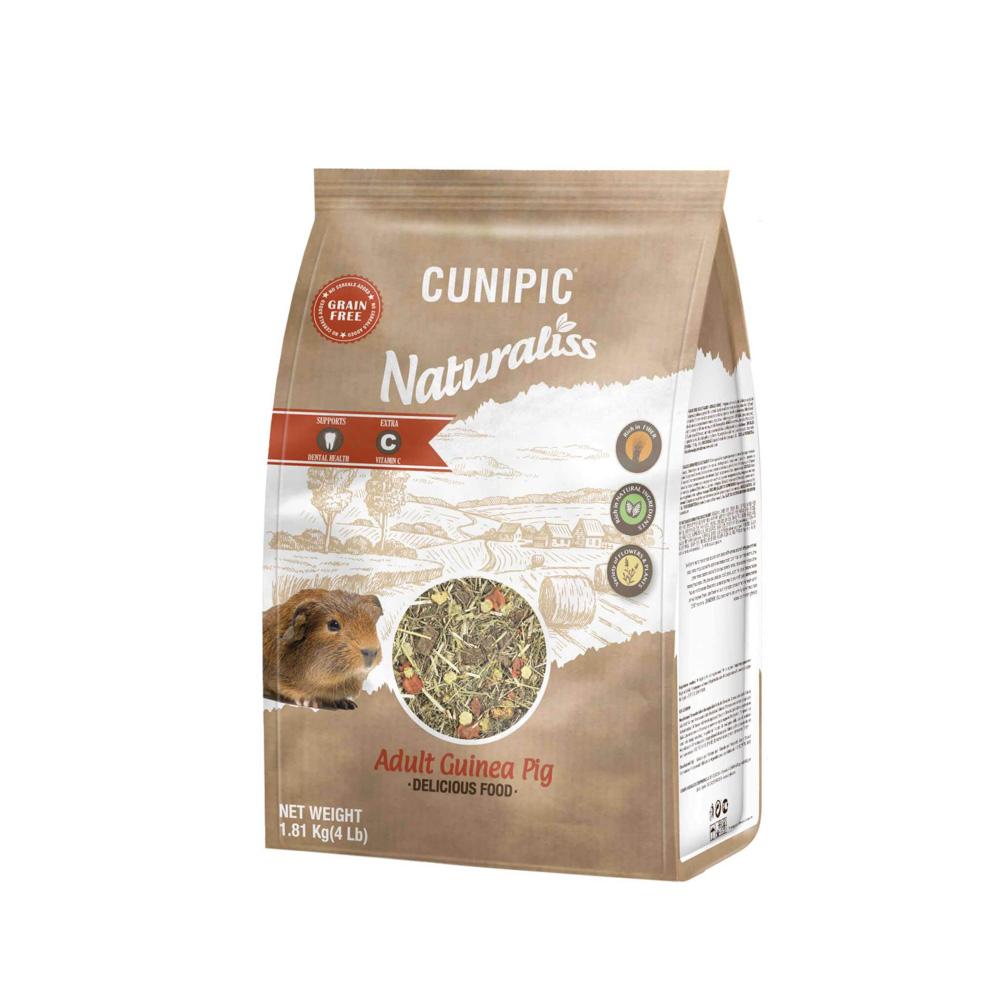 Naturaliss Adult cavia 100% natuurlijk voer
