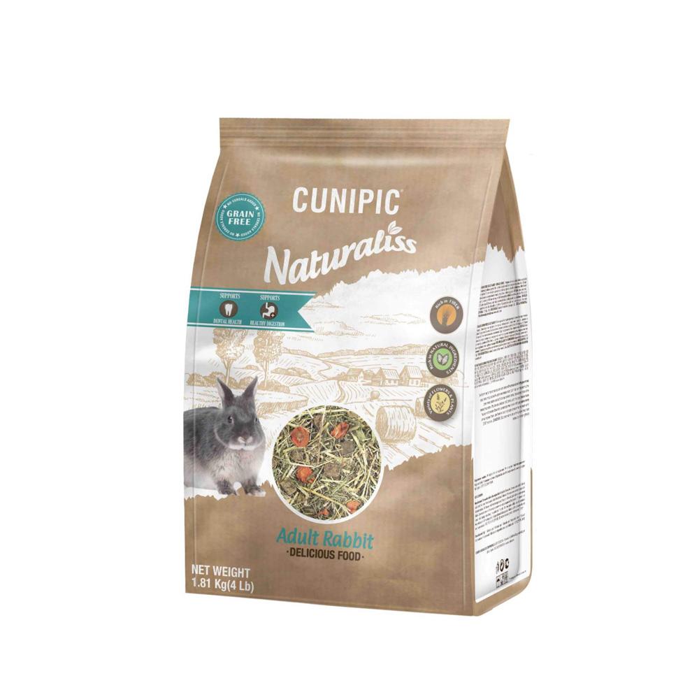 Naturaliss adult konijn 100% natuurlijk voer