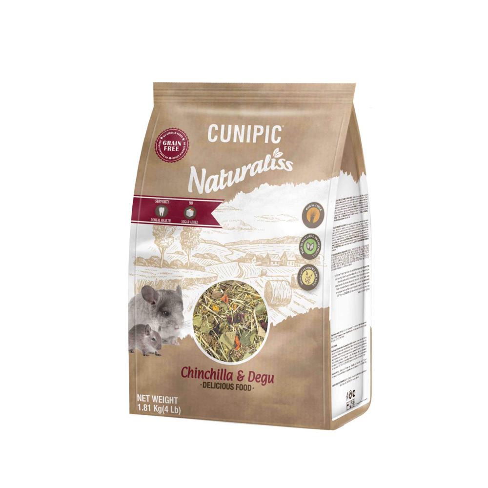 Naturaliss Chinchilla en Degoe 100% natuurlijk voer