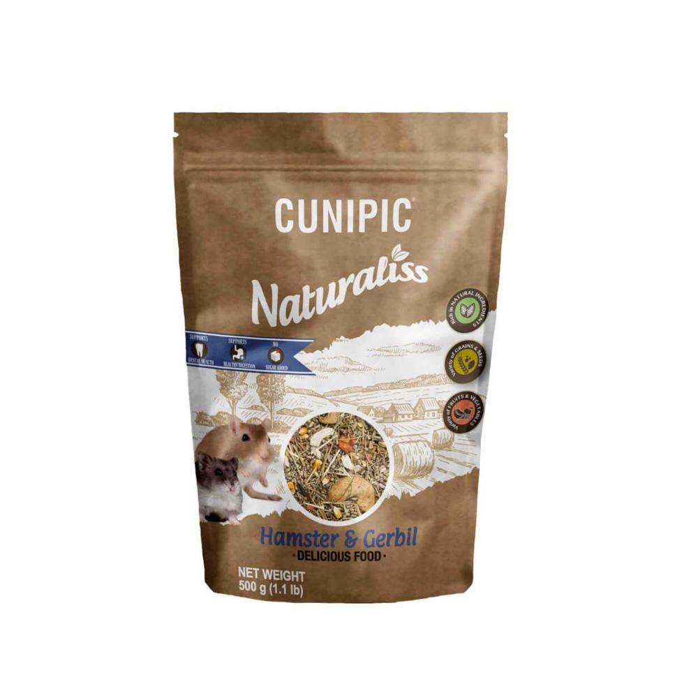 Naturaliss Hamster & Gerbil 100% natuurlijk voer