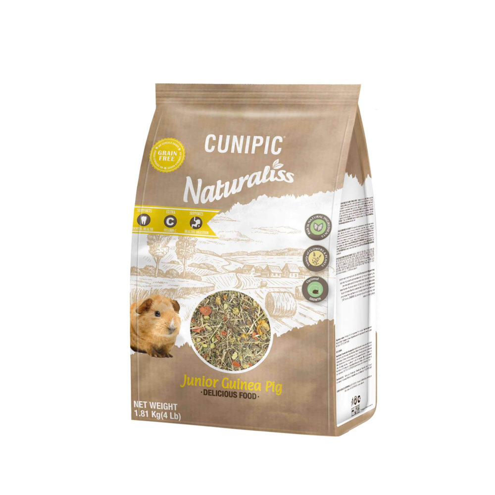 Naturaliss Junior cavia 100% natuurlijk voer