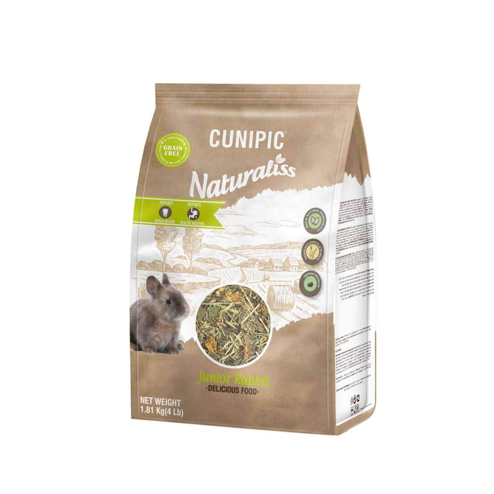 Naturaliss Junior Konijn 100% natuurlijk voer